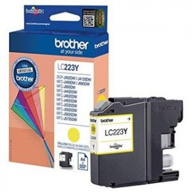 TINTA BROTHER LC223/227Y compatible