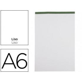 BN18 - Bloc de notas liso A6 80 Hojas 60 G/M2