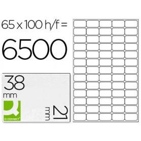 Etiqueta adhesiva q-connect kf01581 tamaño 38,1x21