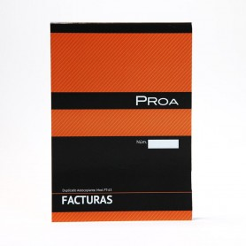 PROA TAL FACTURAS 1/4 DUPLICADO PT63