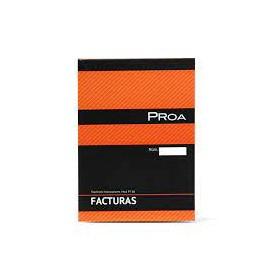 TALONARIO DE FACTURAS Mod. PT68