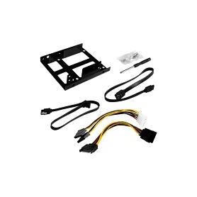 ADAPTADOR SSD DUAL A 3.5 con cable